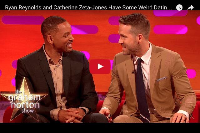 COMEDY - Will Smith, Ryan Reynolds & Catherine Zeta Jones' Relationship Secrets