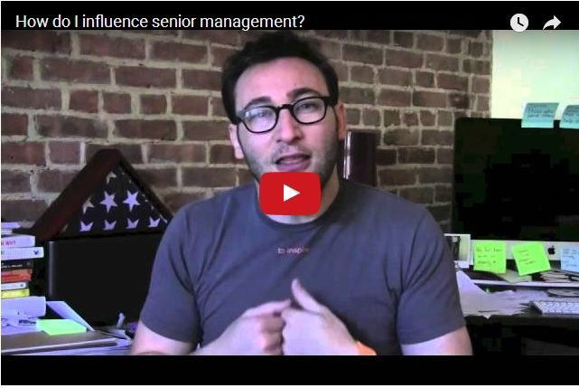VIDEO - How Do You Influence Senior Management?