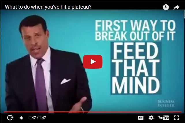 VIDEO - How Do You Overcome Hitting a Plateau?