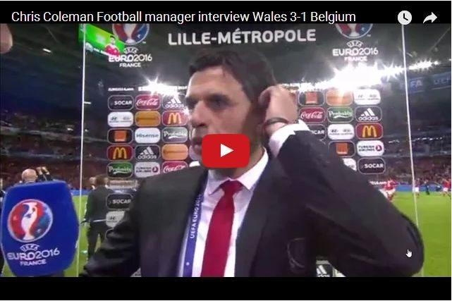 Euro 2016 Inspiration! Chris Coleman On Failure