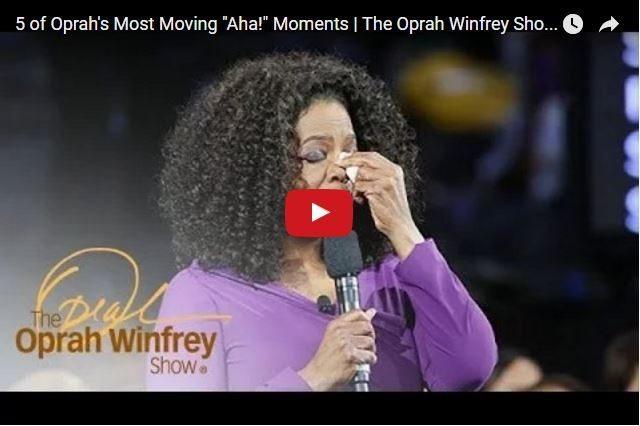 VIDEO - Oprah Winfrey's 5 Greatest Aha Moments! 2