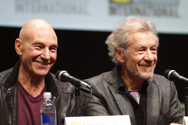 Why Sir Ian McKellen & Sir Patrick Stewart Are Such Good Friends