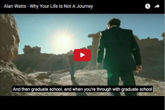 INSPIRING VIDEO - Why Life Is NOT a Journey!!