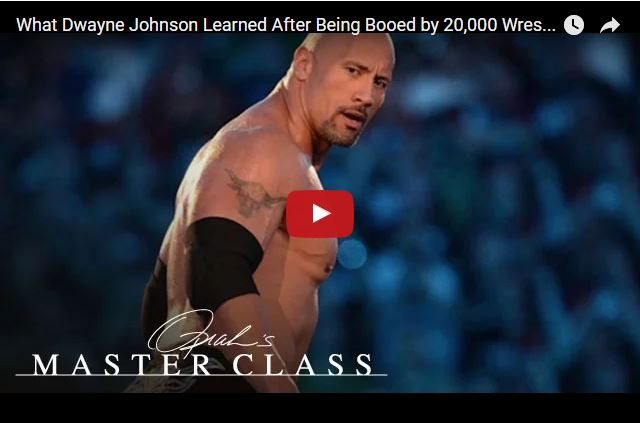 How Being Booed By 20,000 Turned Dwayne Johnson Into a Superstar!