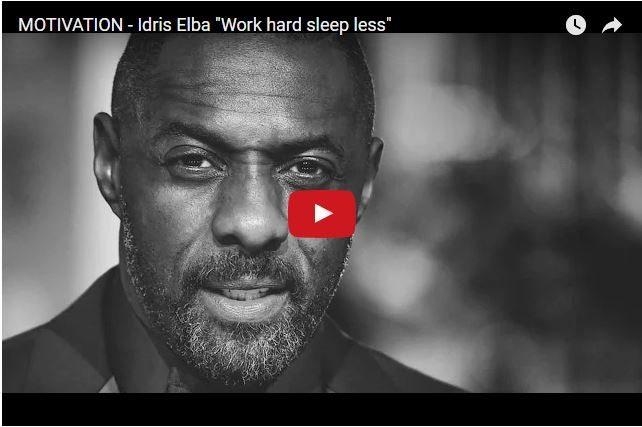 Idris Elba's Life Lessons - Don't Be Afraid To Fail!