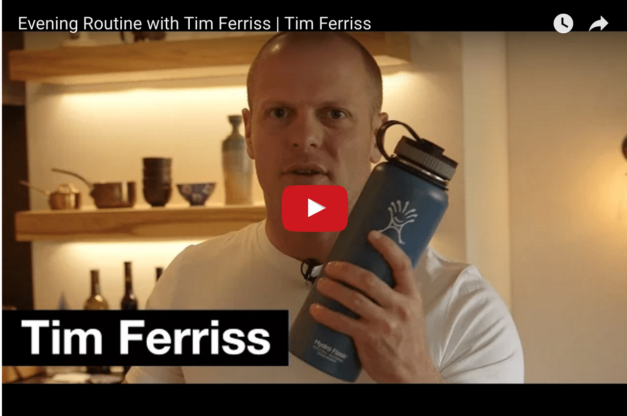Tim Ferriss - How His Evening Routine Helps Him To Relax!