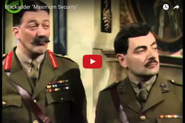 COMEDY - Blackadder: The Disastrously Funny Side of Repeating Behaviour
