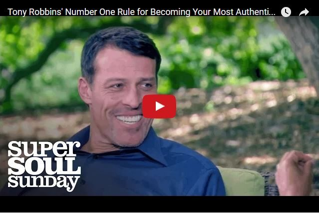 Tony Robbins - Be Yourself! Not Who You Think You Need To Be!