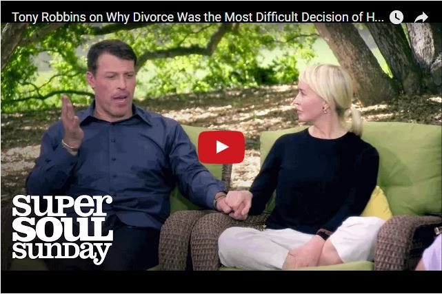 Tony Robbins - How His Divorce Helped Him To Stop People-Pleasing