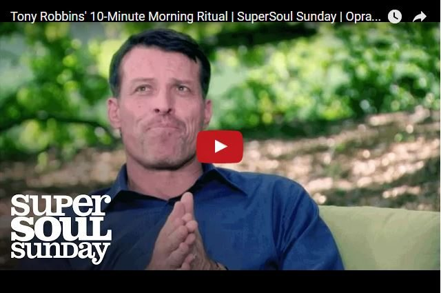 Tony Robbins - 10 Minutes A Day To Optimise Your Life!