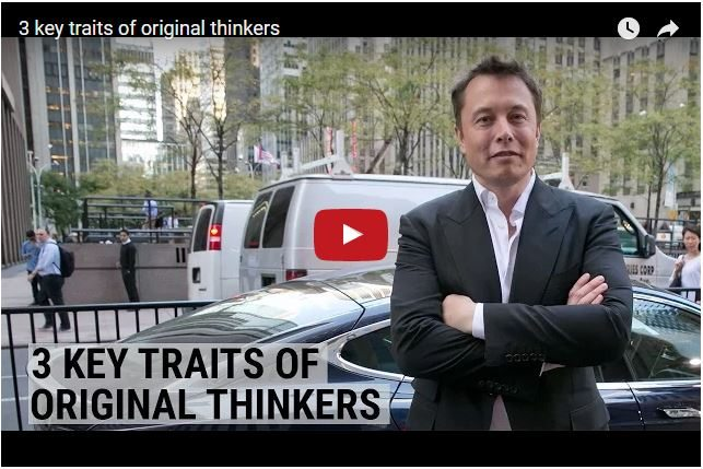 Do You Have The Qualities of An Original Thinker?