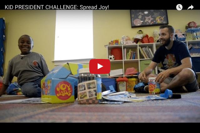 KID PRESIDENT: Want a Great Life? Spread Joy!