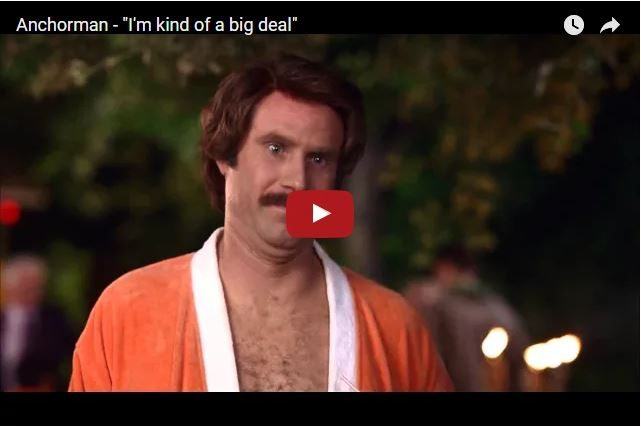 Anchorman Comedy Classic - How Not To Be Impressive!
