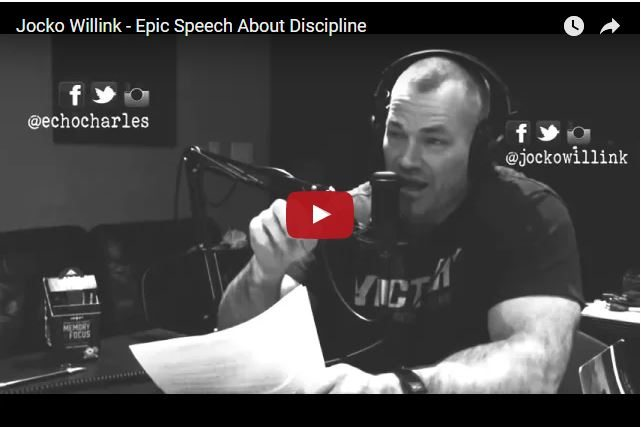 VIDEO - A Navy SEAL Legend on The Power of Discipline