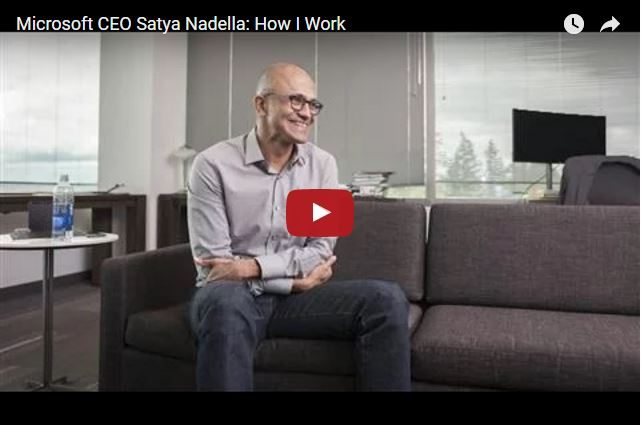 What Would You Ask Microsoft CEO Satya Nadella?