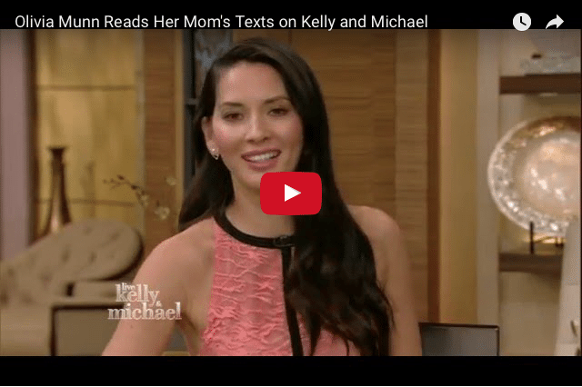 FUNNY: Actress Olivia Munn's Crazy Funny Relationship With Her Mum