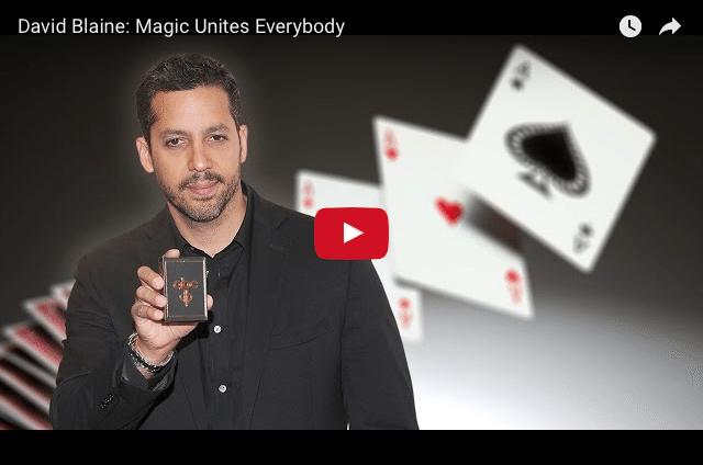 David Blaine - Why I Chose To Master Magic