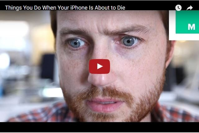 FUNNY - Things You Do When Your iPhone Is About To Die 2
