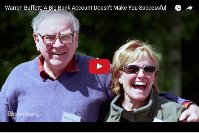 Warren Buffett - Why a Big Bank Balance Doesn't Equal Success!