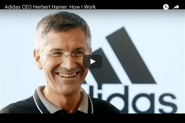 How Does Adidas's CEO Stay Grounded?