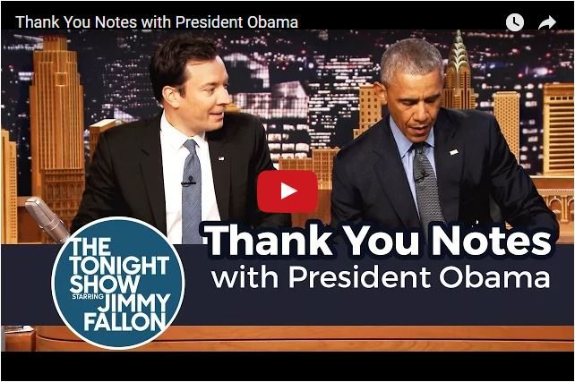 COMEDY: President Obama Laughing At Himself!