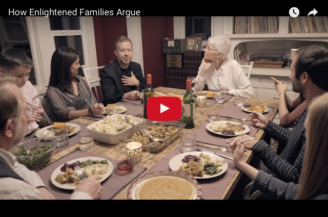 CHRISTMAS COMEDY! How Enlightened Families Argue!