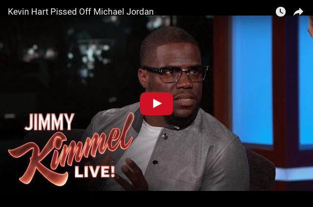 COMEDY: When Kevin Hart P***** off Michael Jordan 2