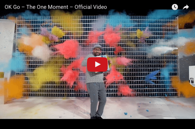 "This Video Will Blow Your Mind! OK Go's ""The One Moment"""