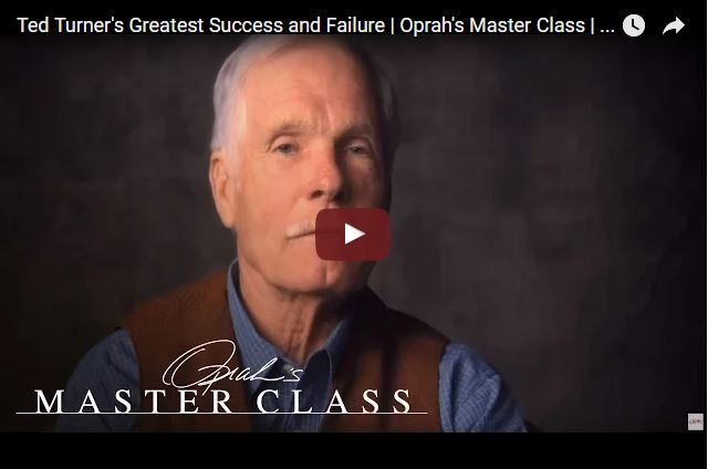 Ted Turner - A Philanthropist Who Lost $8 Billion But Didn't Quit!