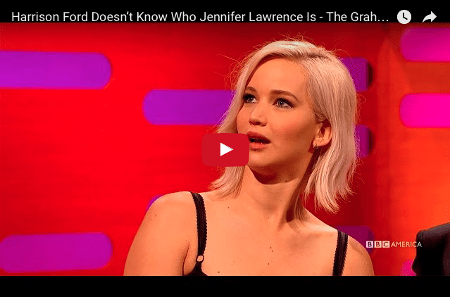 Funny: When Jennifer Lawrence Got Blanked By The A-List...