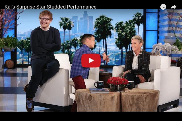 Watch Ellen DeGeneres Make This Boy's Dreams Come True!!