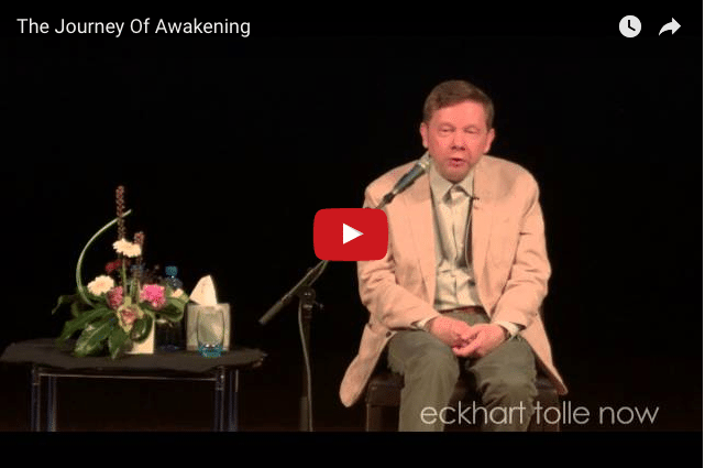 Eckhart Tolle Describes How The Universe & Humans Are Connected