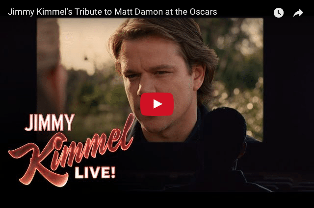 Laughing With Legends! Matt Damon - Get Off The Stage Please!