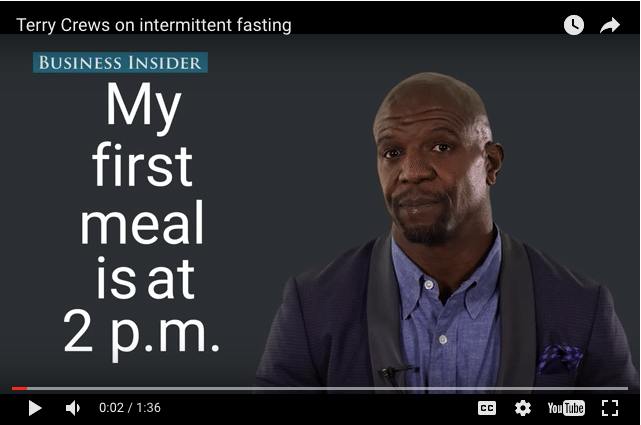 How Intermittent Fasting Helps Actor & Former NFL Star Terry Crews Stay In Shape