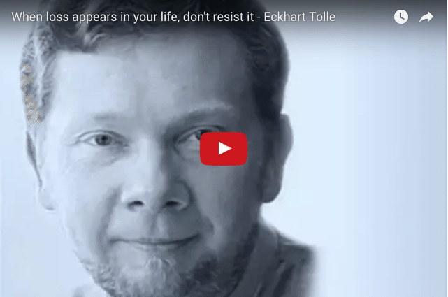 Eckhart Tolle - How Loss Can Lead To Gain