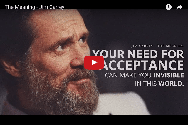 Why Does Jim Carrey Wish We Were All Rich & Famous?