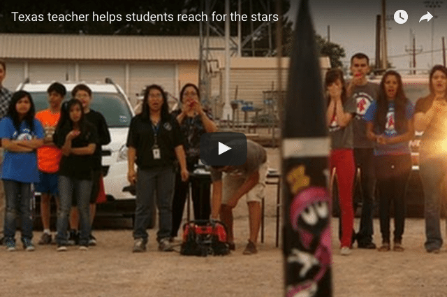 The Inspiring Teacher Helping Her Students Launch Rockets!