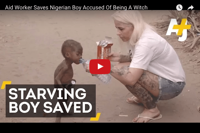The Aid Worker Who Rescued a Child From The Brink of Death