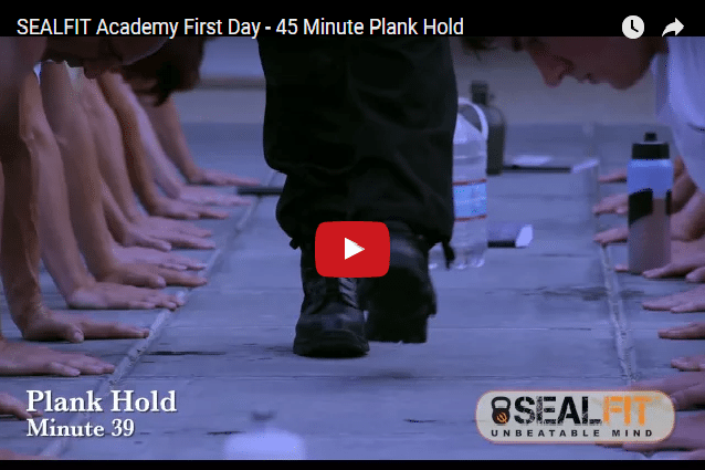 The 45 Minute Plank Hold - Could You Do It?!