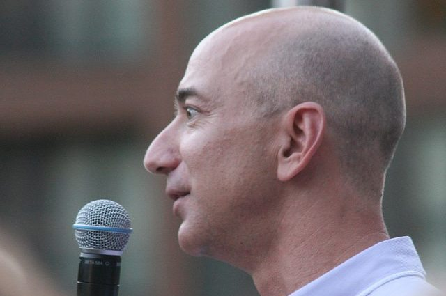 Jeff Bezos Sets Goal of 'A City On The Moon' For Blue Origin
