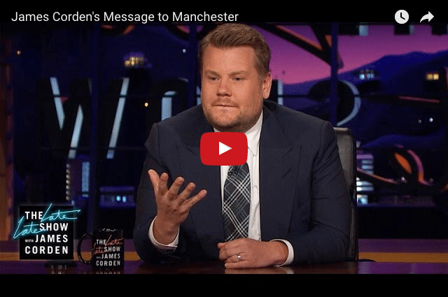 James Corden's Inspiring Message On The Manchester Attack