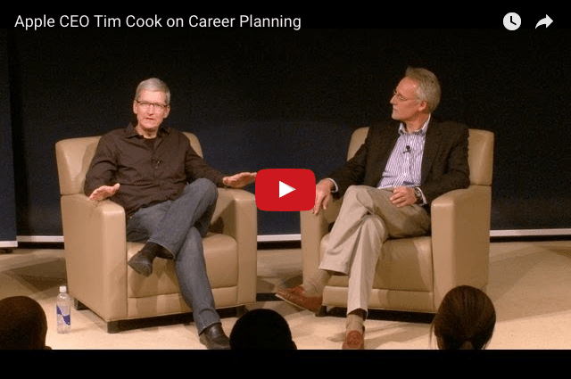 Tim Cook - Did He Really Have a 25-Year Career Plan?