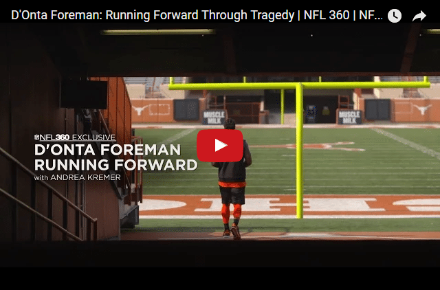 D'Onta Foreman - The NFL Star Who Lost His Son & Played His Heart Out For Him