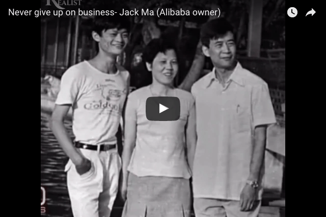 Jack Ma - From KFC Rejection To Billionaire!