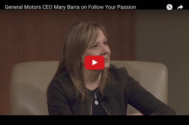 GM CEO Mary Barra - How To Break Into The Boardroom!
