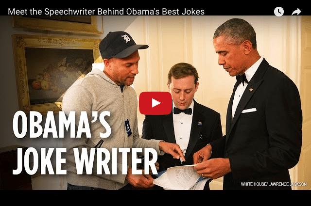 Public Speaking Secrets From President Obama's Speechwriter
