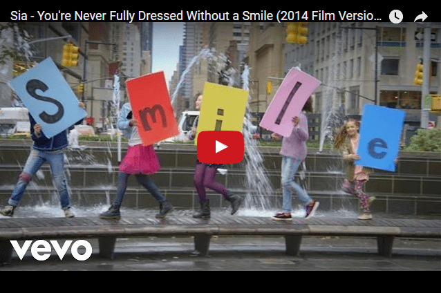 We Dare You Not To Smile At This Music Video... (Smile, by Sia)