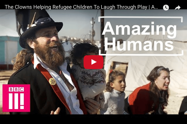 Everyday Legends: Refugee Camps & The Power of Play