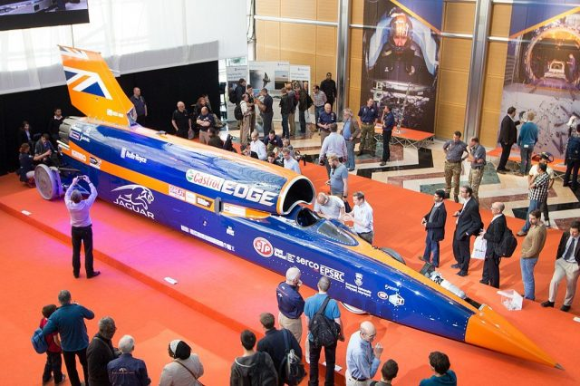Bloodhound Does Its 200mph Land Speed Record Test!
