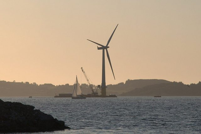 Could a Single Wind Farm Be Enough To Power The Whole World? 2